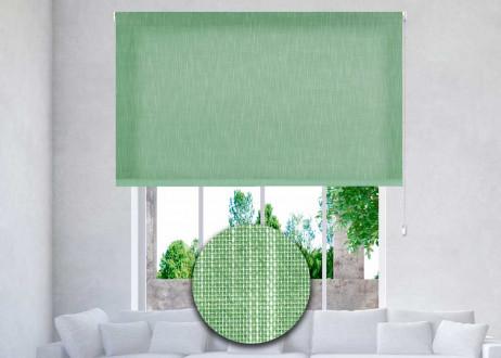 estor-enrollable-excellence-a-medida-translúcido-shantung-36-kelly-green