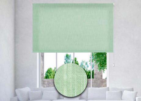 estor-enrollable-excellence-a-medida-translúcido-shantung-86-verde-esparrago