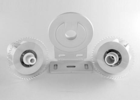 kit soporte central estor enrollable doble sistema Excellence 43 mm