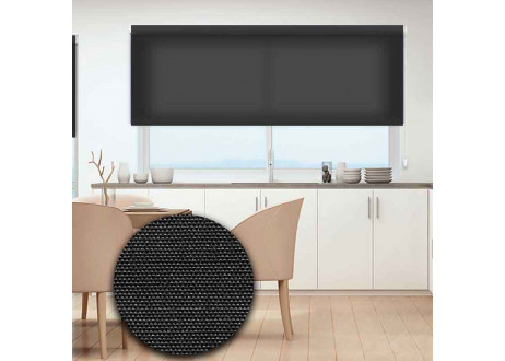 508-Estor-enrollable-translucido-excellence-negro-gris-oscuro-turin