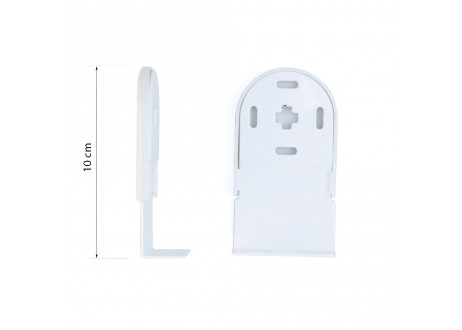 Juego soportes largos (10 cm) pared o techo 38 mm