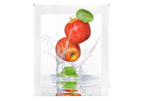 Estor estampado cocina a medida - Frutas