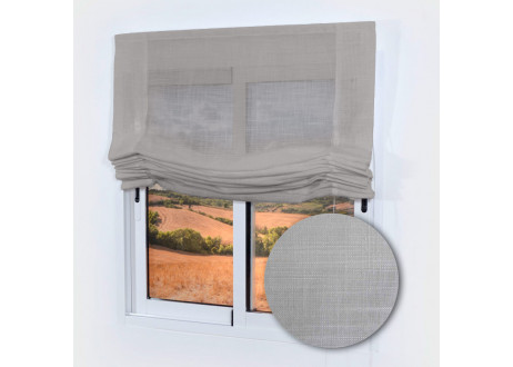 Estor-paqueto-visillo-Porto-color-gris-musgo