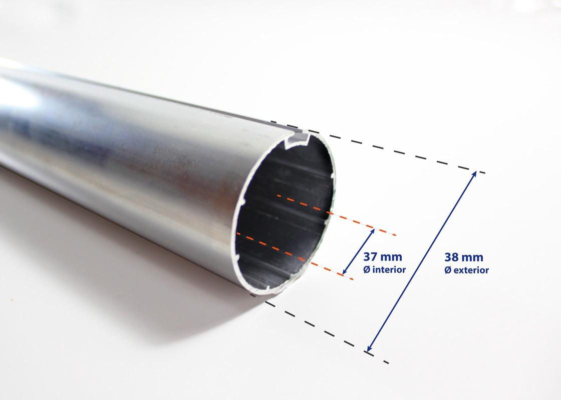 tubo supreme de 38 mm