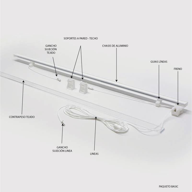Sistema basic de cordón